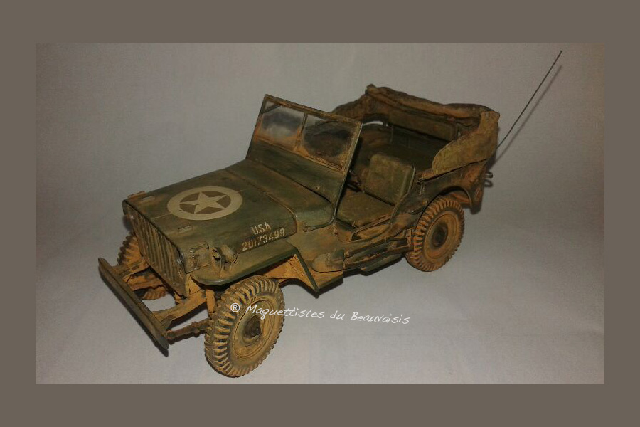 JEEP WILLYS 1/35
