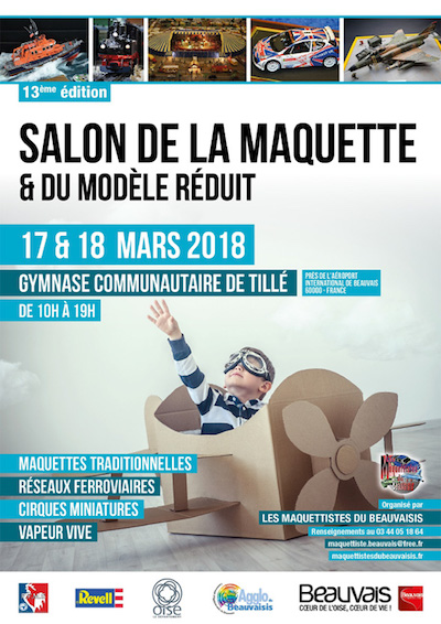 Salon de la maquette 2018 les maquettistes du beauvaisis for Salon de la literie