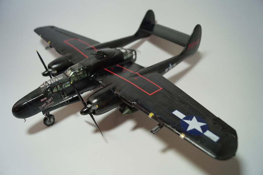 Black Widow P-61- 1/48